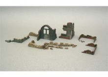 WWII - WALLS AND RUINS italeri 6087