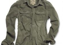 Koszula RAW Vintage - oliwka