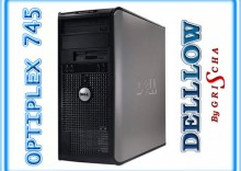 Dell Optiplex 745 E2180 Dual Core 2,0GHz, 1024MB, 80GB, DVD, TOWER, Win XP Home,PRZECENA