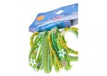 Gumki SELEDYN zielony jasny komplet 12 sztuk