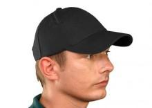 CZLUXB czarna czapka z daszkiem