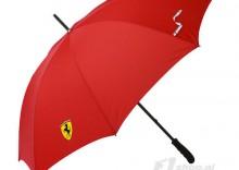 Parasol czerwony Scudetto Ferrari F1 Team