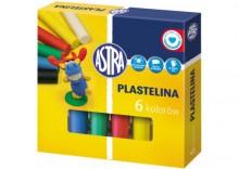 Plastelina Astra -6 kol