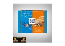Czekolada Ritter Sport Winter- Kreation Orangenmarzipan 100 g