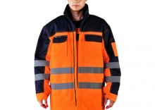 LH-JACWINTER kurtka zimowa fluorescencyjna