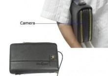 Mini kamera dyktafon podsłuch ukryty w torebce