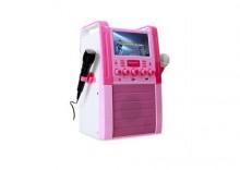 Zestaw karaoke Auna KA8P, odtwarzacz DVD, USB, SD,MP3,2x mik