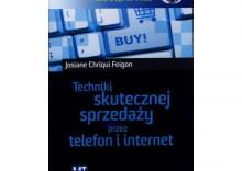 Techniki skutecznej sprzedaży przez telefon i internet. Książka audio CD MP3