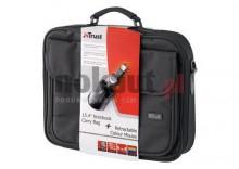 TRUST Torba do notebooka 15.4 cali & Retractable Colour Mouse BB-1300p