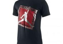 Koszulka Jordan Shine on TEE - czarno - czerwona