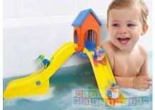 TOMY Zjeżdżalnia dla pingwinków do kąpieli