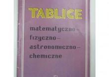 TABLICE MATEMATYCZNO-FIZYCZNO