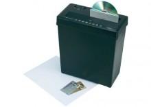Niszczarka do dokumentów Conrad, funkcja niszczenia płyt CD/DVD, kart kredytowych