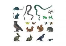 Zestaw małych zwierząt w skali H0