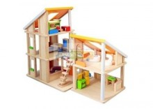 Domek dla lalek z mebelkami, Plan Toys