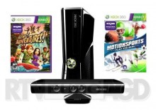 Xbox 360 250GB + Kinect + gry