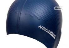 Czepek z silikonu z masażem BIOMASSAGE NEW granatowy Aqua-Speed