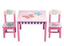 Zestaw Stół z Krzesłami Butterfly - Butterfly Table and Chairs - Guidecraft # G83362 - WONDER TOY MEBLE