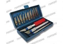 Top Tools Nożyki modelarskie, komplet 16 szt. 17B716