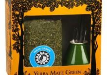 Zestaw YERBA MATE Green FITNESS Odchudzający żółte pudełko