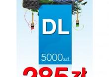 Ulotki DL 99/210 - 5000 sztuk