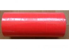 Komplet (10szt.) rolek do metkownicy dwurzędowej - 1,6x2,3cm czerwone, proste