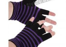rękawiczki ZEBRA bez palców [REK-048]