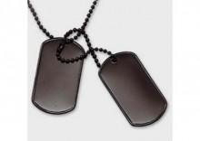 Nieśmiertelnik US Army - black