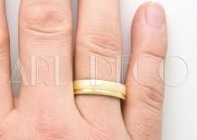 Złote Obrączki Ślubne Amare Exclusive by Swepol wzór model A 661
