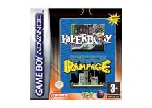 2 w 1: Paperboy + Rampage