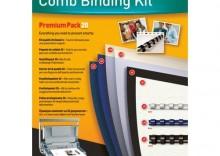 Zestaw do bindowania grzbietami plastikowymi - Starter Pack Premium 20
