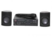 ZESTAW DO KARAOKE Mikrofon + wzmacniacz + głośniki