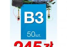 Plakaty B3 - 50 sztuk