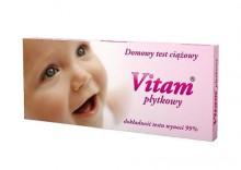 Test ciążowy VITAM płytkowy