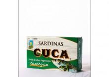 Cuca: sardynki w oliwie z oliwek BIO - 120 g