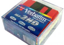 DYSKIETKI Verbatim 1.44MB Color Pudełko plastikowe
