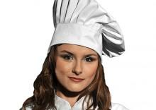 LH-HATER W wysoka czapka kucharska