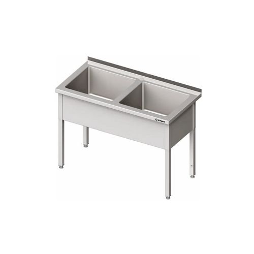 Stół z basenem dwukomorowymdł.120-160cm, szer.60cm
