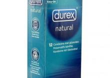 Prezerwatywy Durex Natural - Naturalne prezerwatywy Durex - 12szt