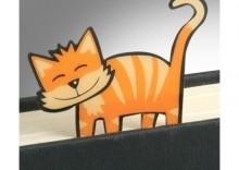 Zakładka - Kool Cats Bookmarks Ginger