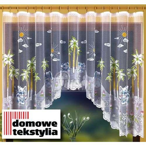 Firanka Wesołe Słoniki 300 x 150 cm