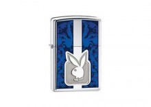 Zapalniczka Zippo Playboy Blue High Polish Chrome Z24927