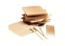 TePe - Wykałaczki drewniane z fluorem 160 szt