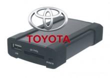 Zmieniarka SD/USB do aut marki TOYOTA