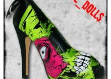 """Pantofelki """"Zombie"""""""