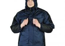 WIN-BLUBER niebiesko-czarna kurtka zimowa