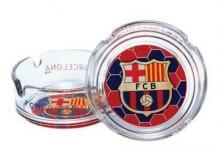 popielniczka szklana FC Barcelona S