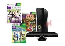 Konsola MICROSOFT Xbox 360 4 GB + Kinect + Kinect Adventures + Kinect Sports + Kinect Sports: Season Two