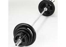 Zestaw olimpijski żeliwny YORK Fitness 90kg * wysyłka gratis