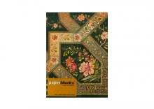 Filigree Floral Ebony Midi Notatnik